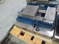 """6"""" Vise with 16-3/4"""" L x 12-1/2"""" W x 3-1/2"""" T Risers"""
