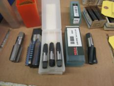 Lot: Assorted Tools, Taps, Tapers, Holders and more