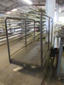 Material Cart with Side Rails