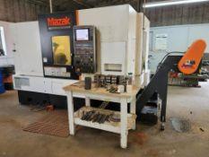 2014 Mazak QTN 350-II Slant Bed CNC Lathe
