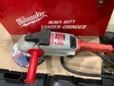 """Milwaukee Heavy Duty 9"""" Sander-Grinder"""
