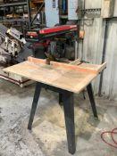 """10"""" Craftsman Woodcutting Radial Arm Saw"""