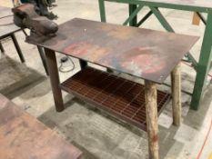 Lot of 2: Heavy Duty Metal Tables