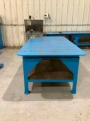 Heavy Duty Metal Table with Vise