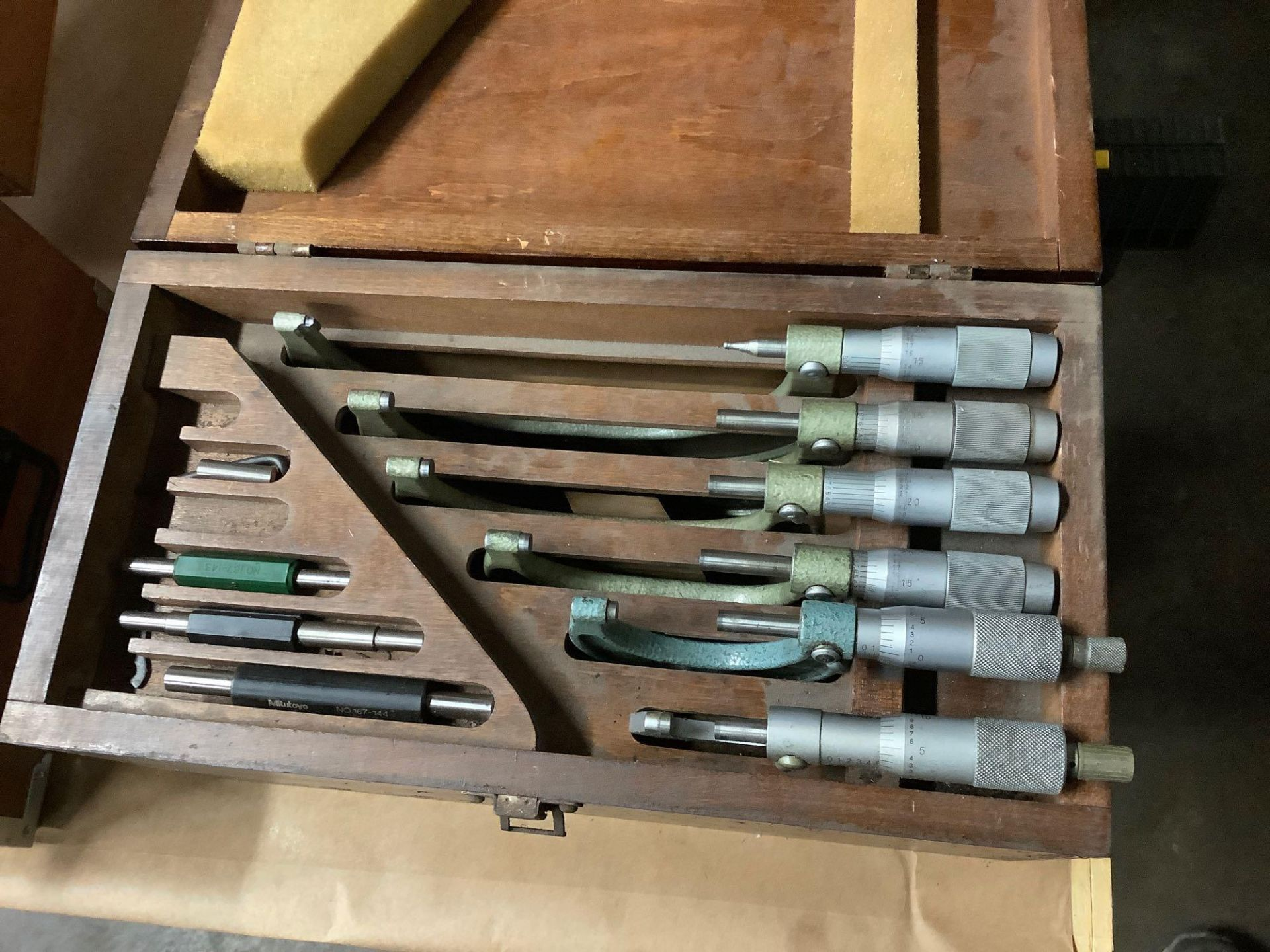 """Set of OD Micrometers, Mixed Brands 0-1"""" thru 5-6"""" - Image 2 of 3"""