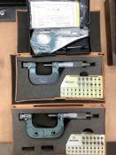 Lot of 3 Mitutoyo Micrometers