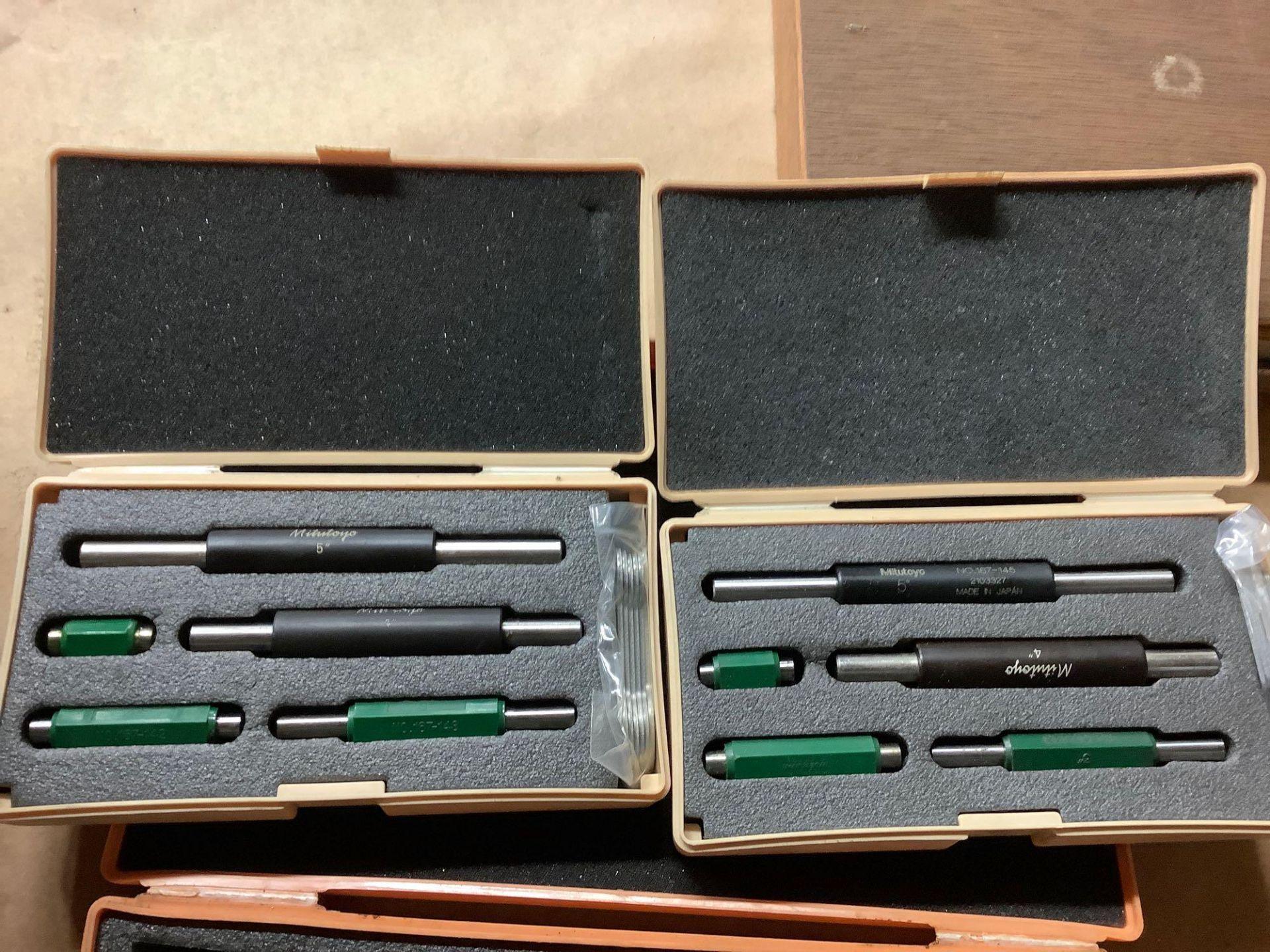 Lot: Mitutoyo Micrometers and Micrometer Bars - Image 5 of 5