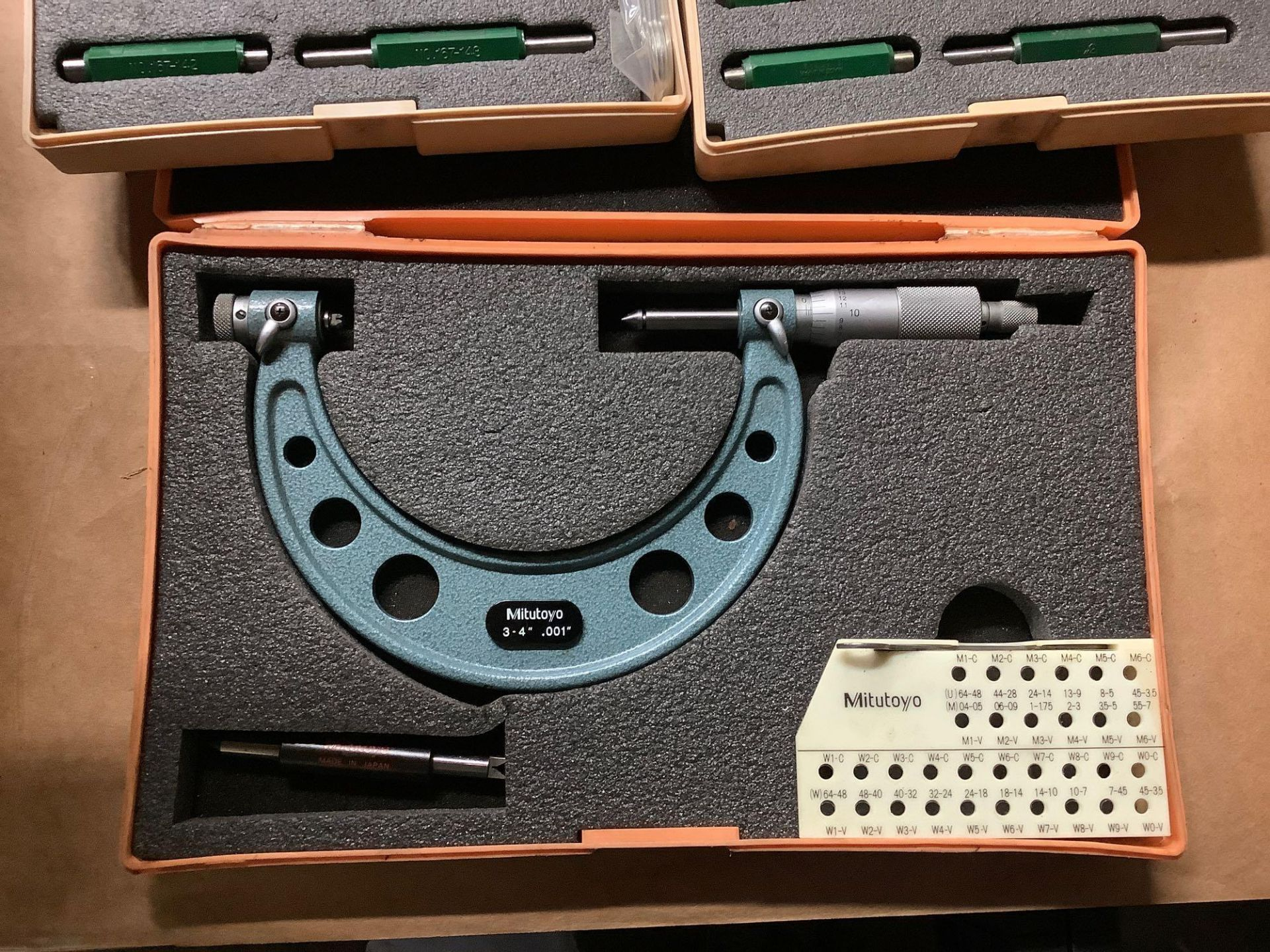 Lot: Mitutoyo Micrometers and Micrometer Bars - Image 4 of 5