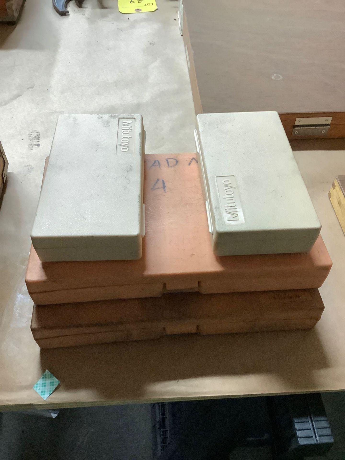Lot: Mitutoyo Micrometers and Micrometer Bars