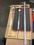 Lot of 3 Caliphers, assorted brands and sizes