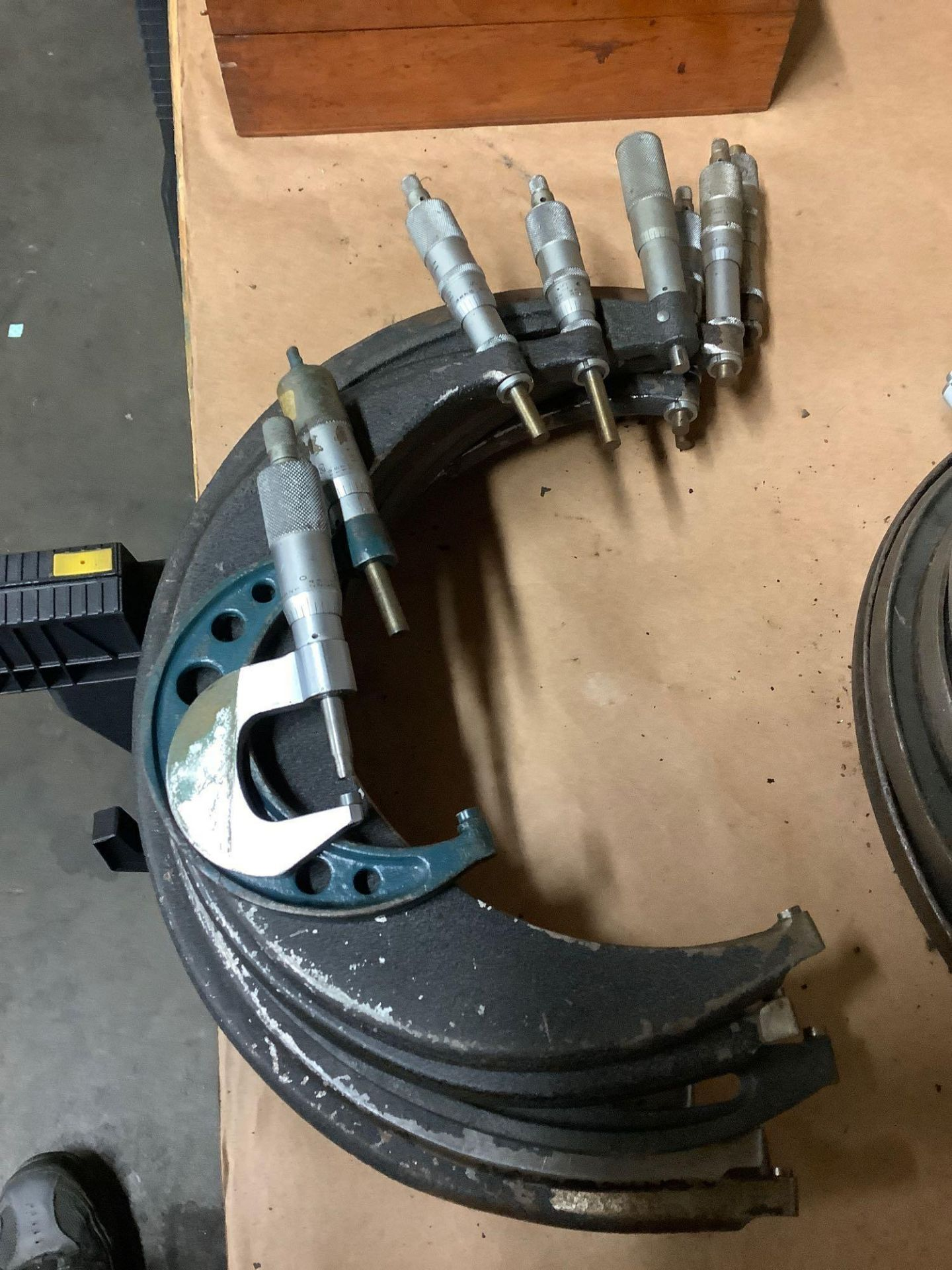 Lot of OD Micrometers, Assorted Brands and Sizes