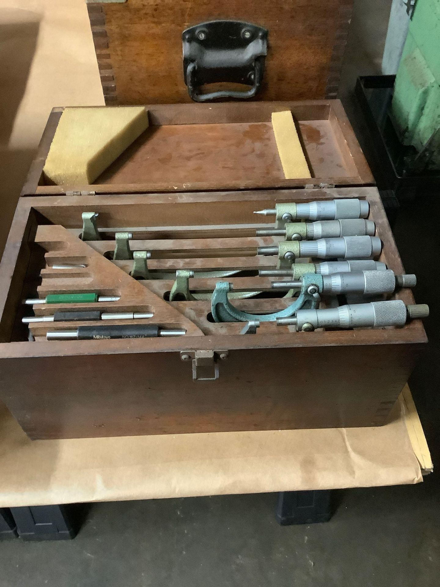 """Set of OD Micrometers, Mixed Brands 0-1"""" thru 5-6"""" - Image 3 of 3"""