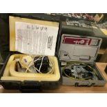 Lot of 2: (1) Mighty Vac Vacuum Pump (1) ETCH-0 Matic Engraver