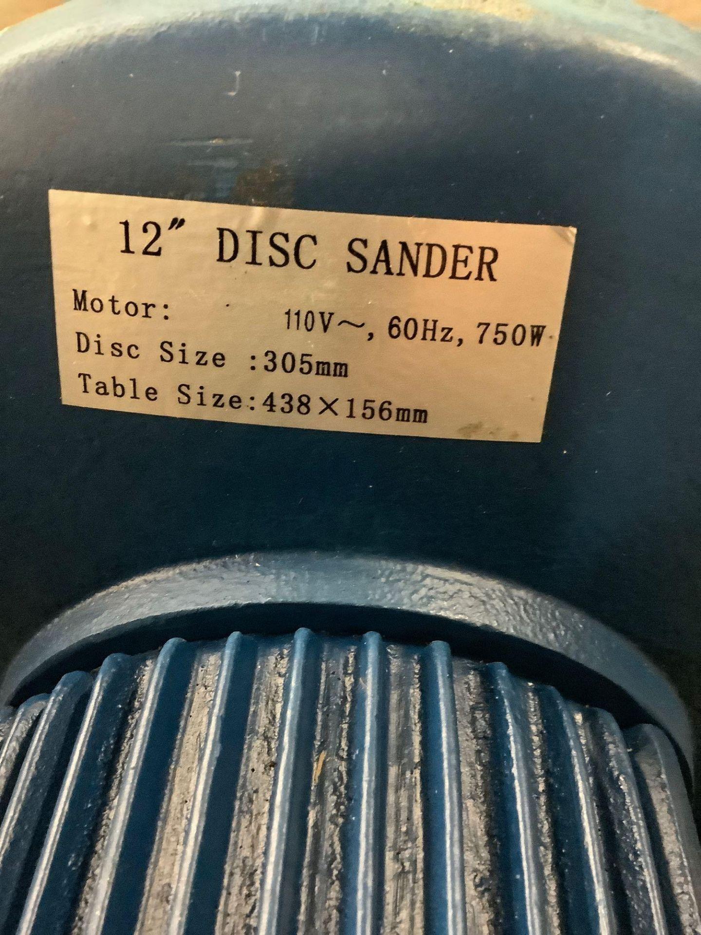 """12"""" Disc Sander - Image 4 of 4"""