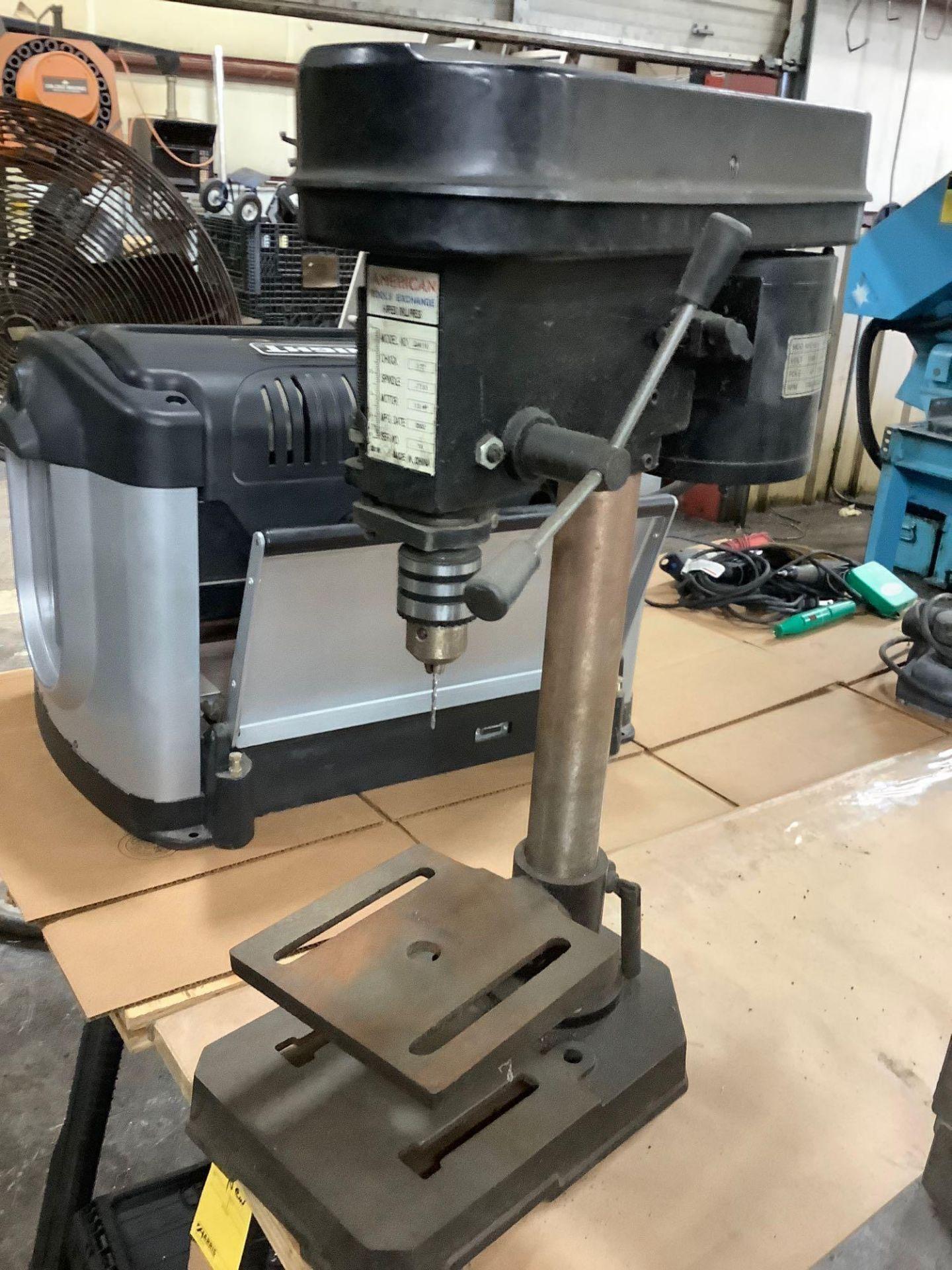 American Table Type 5-Speed Drill Press Model ZJ4110