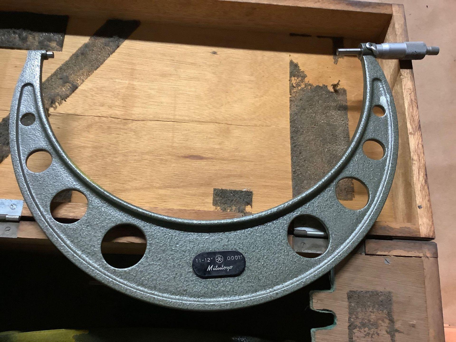 """Mitutoyo OD Micrometer Set, 6-7"""" thru 11-12"""" - Image 3 of 4"""