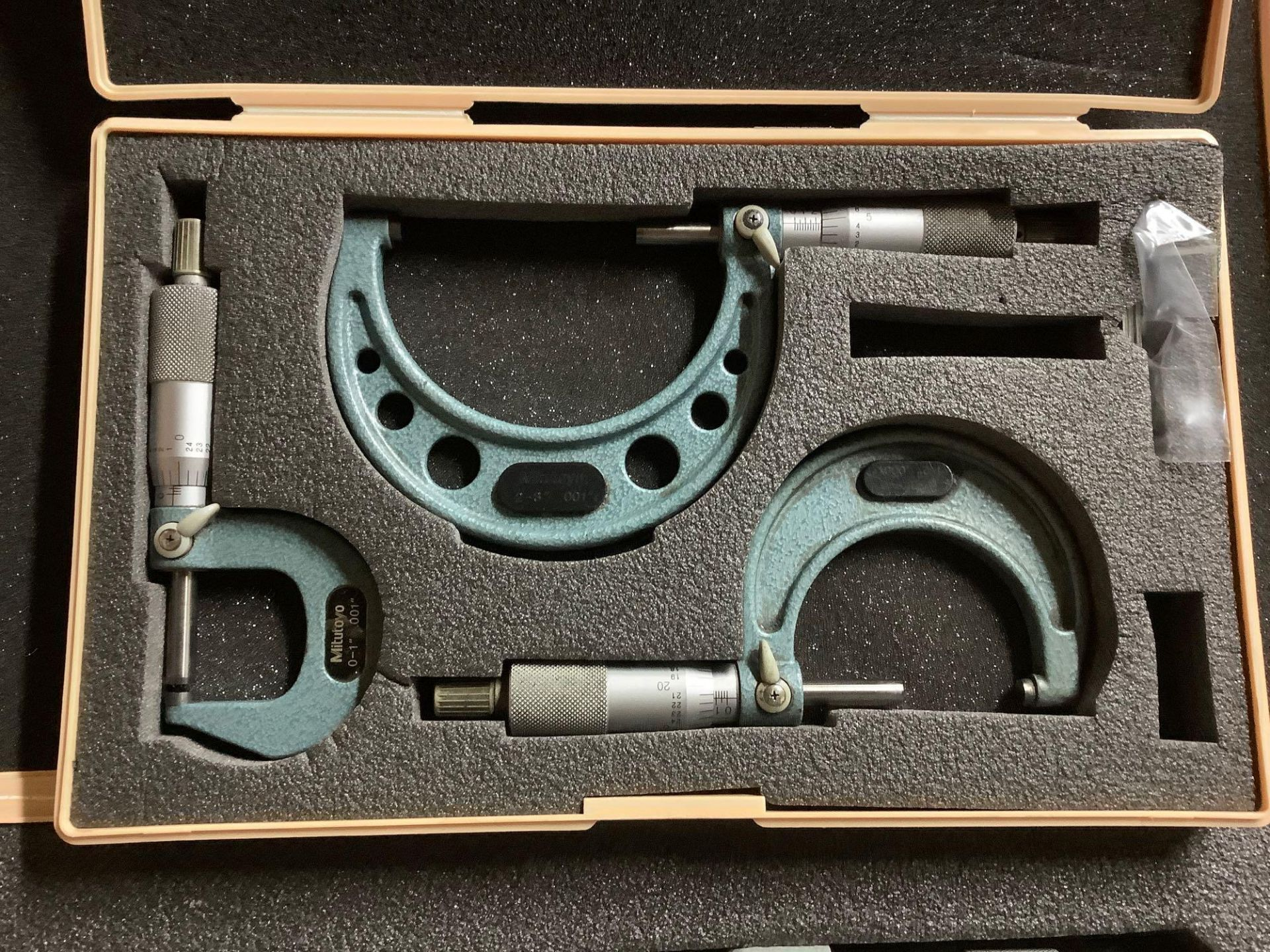 Lot of 3 Mitutoyo Micrometer Sets - Assorted sizes - Image 3 of 5