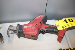 MILWAUKEE 18-VOLT HACKZALL RECIPROCATING SAW, NO BATTERY OR CHARGER