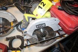 "RYOBI MODEL CSB135L, 7-1/4"" CIRCULAR SAW"