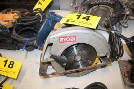 "RYOBI MODEL CSB123 7-1/4"" CIRCULAR SAW"