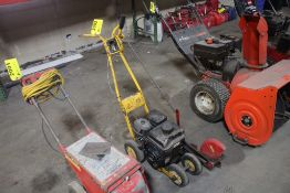 GAS POWERED EDGER WITH BRIGGS & STRATTON ENGINE