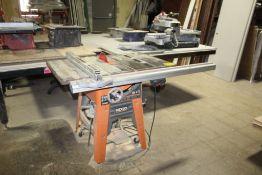 "RIDGID MODEL TS3650 10"" CONTRACTORS TABLE SAW"