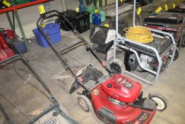 """TORO RECYCLER 21"""" SELF PROPELLED GAS PUSH MOWER WITH BAGGER"""