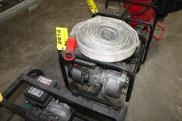 WINCO GAS POWERED WATER PUMP WITH KAWASAKI MODEL FA130D ENGINE, WITH DISCHAGE HOSE