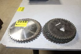 (2) STACKS OF SAW BLADES