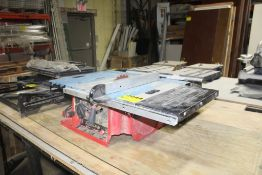 """SKILSAW 10"""" BENCHTOP TABLE SAW WITH RYOBY BENCTOP SAW FOR PARTS"""