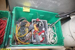 ASSORTED ELECTRICAL SUPPLIES & CORDS