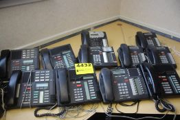 (11) OFFICE PHONES, NORTEL MERIDIAN