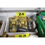 """(3) TRAILER HITCH BALLS, 1-7/8"""" & 2"""", AND WIRING HARNESS"""