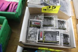 """LARGE QUANTITY OF K-TOOL 4"""" CABLES TIES, 100 PER PACKAGE"""