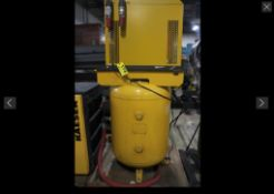 KAESER MODEL: KRD125 COMPRESSED AIR DRYER WITH VERTICAL AIR TANK