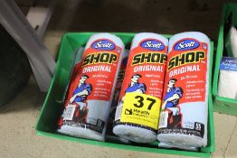 (6) ROLLS OF SCOTT SHOP TOWELS