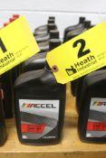 (6) QUARTS OF ACCEL SAE 40 MOTOR OIL