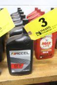 (6) QUARTS OF ACCEL SAE 20 MOTOR OIL