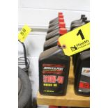 (6) QUARTS OF SERVICE PRO SAE 10W-40 MOTOR OIL