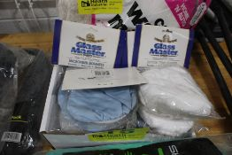 GLASS MASTER, MICROFIBER AND COTTON TERRY BONNETS IN BOX
