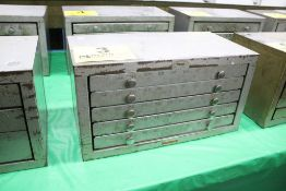 HUOT 5 DRAWER NUMBER DRILL CABINET WITH DRILLS