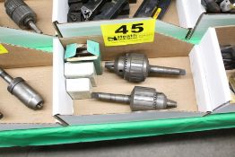 """(2) JACOBS NO. 14N 0-1/2"""" SUPER CHUCKS WITH REPLACEMENT JAWS"""