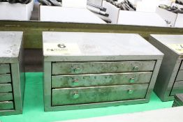 HUOT 3 DRWAER LETTER DRILL CABINET WITH DRILLS
