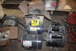 (2) ELECTRIC MOTORS & DAYTON BLOWER