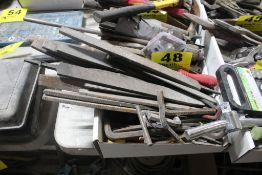 LARGE QTY OF FILES & ALLEN WRENCHES