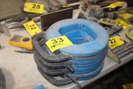 """(4) IDEAL TUFF GRUP PRO STEEL FISH TAPE, 240' X 1/8"""""""