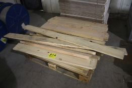 LARGE QTY OF 1 X & 2 X LUMBER
