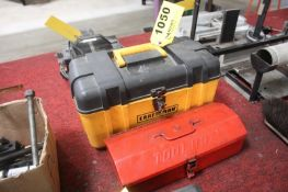 (2) ASSORTED TOOL BOXES
