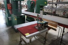 STEEL FRAME WORKBENCH WITH MOUNTING PRESS