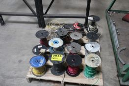 ASSORTED ELECTRICAL COPPER WIRE ON SKID